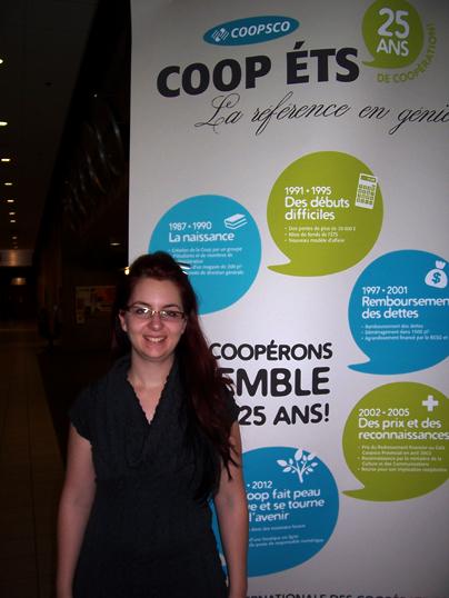 Sarah Fortin, DG Librairie Coop ÉTS