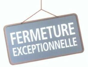 Fermeture-exept